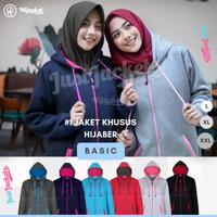 Jaket Muslimah Hijacket Basic All Variant | Jaket Wanita Cewek