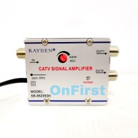 Spliter TV / Boster Antena TV 2 Way CATV Amplifier