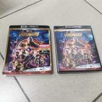Blu Ray Original Avengers Infinity War 4K Ultra HD With Slipcover