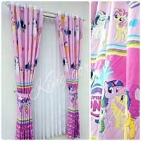 Harga gorden hordeng jendela pintu kamar anak motif may lite | Pembandingharga.com