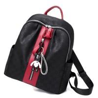 Ransel Tas Fashion Wanita / Tas backpack Terbaru Termurah Merah