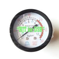 Pressure Gauge Oilless Drat Belakang