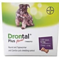 Drontal plus flavour obat cacing anjing