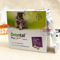 drontal dog obat cacing anjing per tablet