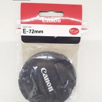 Lens Cap Canon 72mm Canon 18-200 LensCap 72 mm Tutup Lensa
