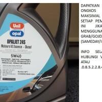 Unil Opal Opaljet 24S Fully Synthetic 5w40 Galon 5 Liter