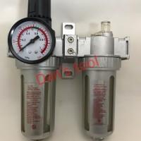 air control unit / filter angin kompressor double