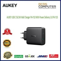 AUKEY USB C 56.5W Wall Charger PA-Y10 With Power Delivery 3.0 PA Y10 31be9ccf8d
