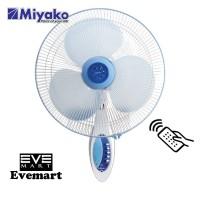 MIYAKO Kipas Angin Dinding 16 Inch KAW1689RC / Wall Fan Remote Control