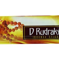 Dupa India (Aromaterapi) Pouch Plastic - Diamond D-Rudraksh 35 Sticks