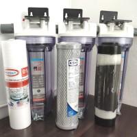 Paket Saringan Air 3 HC Spun Cto Ksh Gsp ( Air keruh mangan besi)