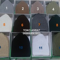 Mercan Peci Knitting Caps WhiteMade In Turkey/Peci Putih All Size