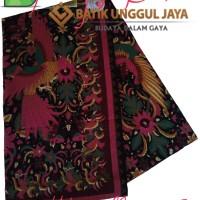Grosir. Kain Batik Pekalongan Primisima Halus Hitam Manis 252 Pink Unggul  Jaya 2f49e30741