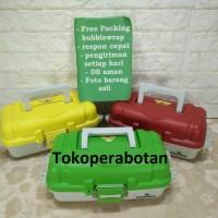 Kotak Pancing Tingkat 1 / Tool Box Plastik Tingkat MT-100