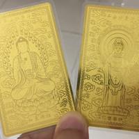 Tiaria 24K Gold Budha Logam Mulia Emas Murni 24 Karat 1 gram