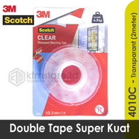 3M Scotch Double Tape VHB Mounting Transparant 4010C 21 mm x 2 m