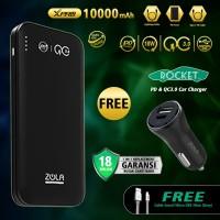 ZOLA Premium Powerbank XPro 10000mAh PD Power Delivery+Qualcomm QC3.0