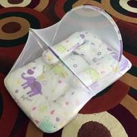 Harga kasur bayi bantal guling lipat kelambu baby | antitipu.com