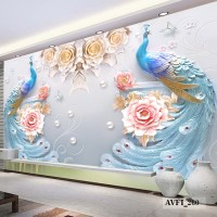 Wallpaper Custom Murah - Wallpaper Dinding Custom Printing 3 Dimensi