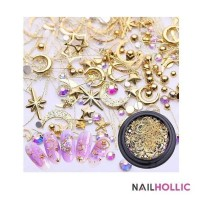 Lunar nail art decoration / nail decor / aksesoris kuku