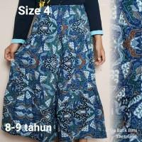 rok batik anak-anak usia 8 sampai 9 tahun ukuran 4
