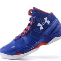 Sepatu Basket Under Armour Warna Hitam Biru - Sepatu Basket Murah