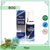 BOG Dead Sea Salt - Spray Facial Body Scrub - Pembersih Kulit
