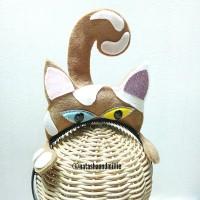 BANDO si belang kucing lucu (coklat-putih)