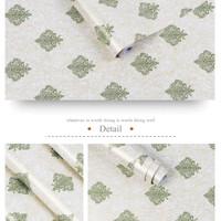 Harga wallpaper sticker 45cm x 10 mtr batik | antitipu.com