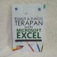 Rumus fungsi terapan Microsoft Excel untuk pengolahan data