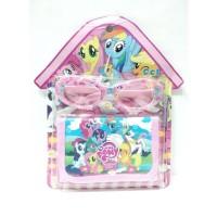 Aksesoris Anak Perempuan Dompet Kacamata My Little Pony