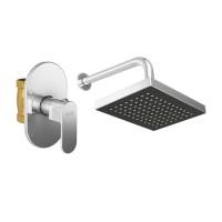 AER Bundling Kran Tembok Dingin SV 01 + Wall Shower WS-11