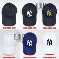 topi NY NEW YORK baseball MLB import 2 warna UNISEX