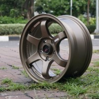 Velg Mobil Civic Odysey Luxio Dll Tipe Te37 Tokyo Ring 15 Hole 5x114,3
