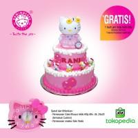 Kue Ulang Tahun Hello Kitty 2 Tingkat