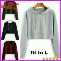 sweater basic crop sweater hoodie sweater rajut sweater wanita hodie