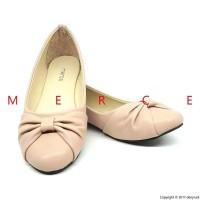 Terbaru Merce Amelia Sepatu Balet Simple Casual Flatshoes Wanita Hitam