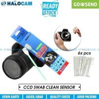 CCD Sensor Swab Sensor Cleaning Pack / Pembersih Sensor Kamera DSLR
