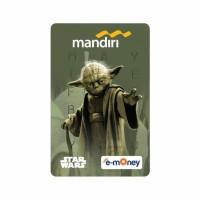 Mandiri E-Money Star Wars Classic Edition Yoda