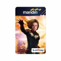MANDIRI E-MONEY SPECIAL EDITION CAPTAIN MARVEL (NEW)