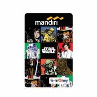 Mandiri E-Money Star Wars Classic Edition All Character