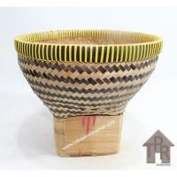 Boboko / Bakul Nasi Bambu Batik - D26