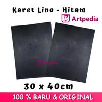 Karet Lino - Hitam Ukuran A3 / Linoleum (Lino Cut Material)