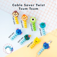Cable Saver Twist / Pelindung Ujung Kabel Android Apple - TSUM TSUM