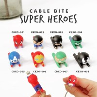 Cable Bite/Pelindung Kabel/Cable Saver/Cable Protector - Super Heroes