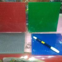 Base Plate 16 x 16 cm (20 x 20 dot) papan lego
