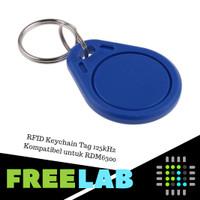 RFID Keychain Tag Gantungan Kunci EM4100 125 kHz Proximity Keytag Tag