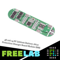 4S Lithium Battery 18650 14.8V 10A Protection Charger Board Module BMS