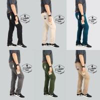 celana chino slimfit cino pocket panjang i&m rules premium