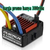 ESC Brushed Hobbywing Quicrun 1060 60-360A Dragbrake Waterproof rc car